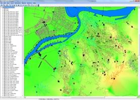 EDAMS GIS Module